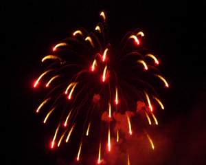 Fire Works of Shirahama